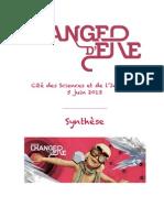 Synthèse FORUM CHANGER D'ERE 2013