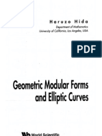 Geometric Modular Forms and Elliptic Curves by Haruzo Hida.pdf