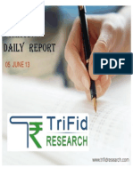 COMMODITY DAILY REPORT  6 JUNE 2013