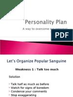 Personality Plan