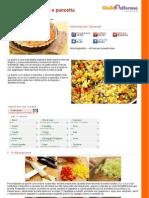 GZRic Quiche Con Verdure e Pancetta