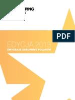 Analiza rynku Retail&Fashion w Polsce 2013 streszczenie
