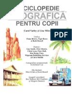 Enciclopedie geografica pentru copii