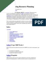Manufacturing Resource Planning MRP