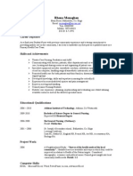 Sample CV (Nursing)