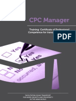 CPC Manager - Training