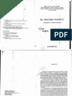 7363660 Veron Eliseo La Palabra Adversativa Observaciones Sobre La Enunciacion Politica