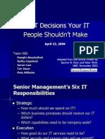 Six IT Decisions Presentation v2.ppt
