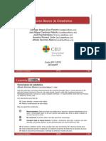 Libro de estadística, intervalos de confianza y contrastes al final