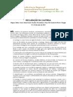 Declaracao Da Caatinga