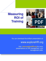 21372659 Measuring ROI of Training
