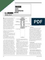 reed saxophone manual