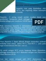 Marka Serologik Virus Hepatitis c