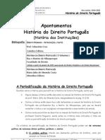 Historia Instituicoes