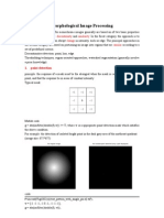 Morphological Image Processing