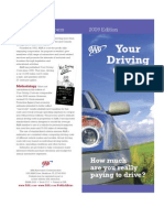 2009 Edition of AAA Your Driving Costs