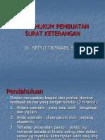 Aspek Hukum Pembuatan Surat Rujukan