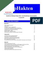 4flamingos pHakten 1. Quartal 2011