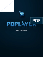Pdplayer Manual