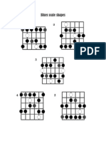 Blues Scale Shapes