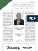 Entrevista a Pepe Cano, Miembro Fundador de La AAM