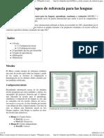 Marco común europeo de referencia para las lenguas  RUSO
