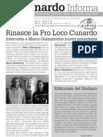 Cunardo Informa maggio 2013