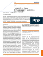 Derivatization Reagents in HPLC ESI MS