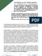 CONVENÇÃO COLETIVA 2011-2012