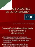 enfoque didctico de las matemáticas.ppt