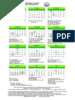 Medford Public Schools Calendar 2013-2014 School Year- Updated April 9, 2014