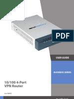 VPN Router RV042 OperationsGuide
