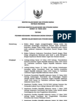 Kepmendagri 43 2000 Pedoman Kerjasama Perusahaan Daerah