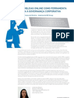 """Artigo """"Assembleias Online como ferramenta aliada à Governança Corporativa"""" (Mz Group)"""
