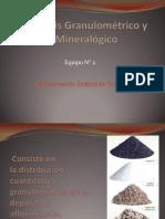Análisis Granulométrico-mineralogico