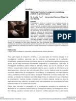 Investigacion Biomedica y Problemas Epistemologicos