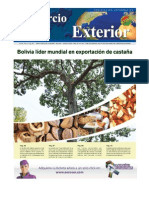 Bolivia Lider Exportacion Castana Ce185