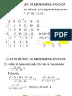 Guia de Repaso Final de Matematica Aplicada2012