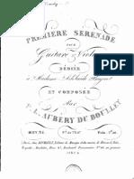 Aubéry du Boulley - Première sérénade pour guitare et violon - RIBS0056