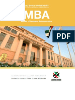 MBA 2011 Brochure_WEB