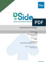 002 Documento Generacion Riesgos BSIDE v1