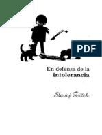 En Defensa de La Intolerancia_Slavoj Zizek