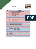 Cronograma Toma USM SJ Jueves _2