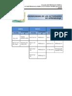 CRONOGRAMA FISCALES ICA