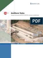 016.3 Tanques de Tormenta Modulares Prfv Amitech Hidrostank