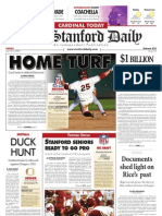 04/24/09 The Stanford Daily [PDF]