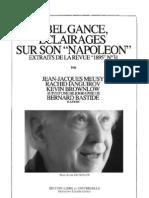 Abel gance, éclairages sur son Napoléon