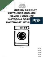 electrolux EW1248W manual