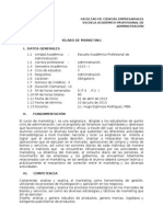 Silabo Marketing 2013