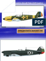 WW II Other Axis Countries Aircraft Prints (CLW Graphics)